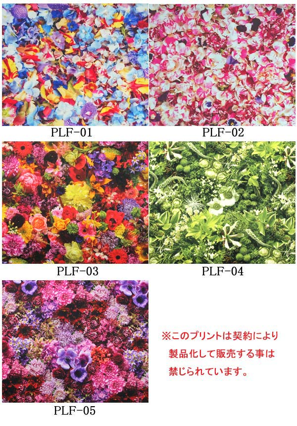 【A】《生地》オックスFlowerArtPrint10cmKIYOHARAキヨハラ(全5種)planticaプランティカ【再入荷なし】