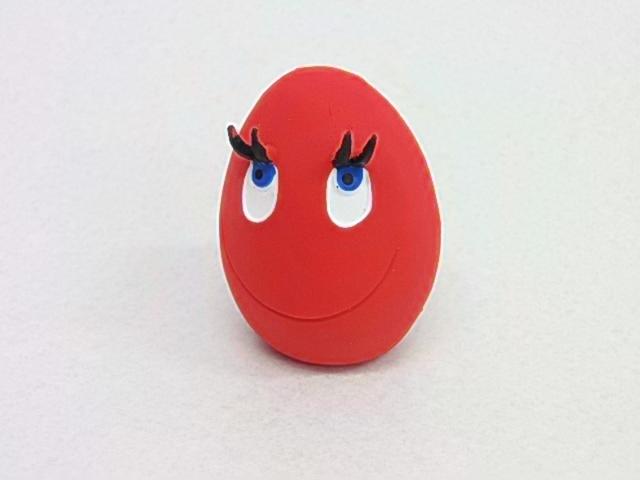 ご購入金額1080円以上で基本定形外送料から200円引き サンジョルディーのおもちゃはメール便指定 2~3個の ちょいまとめ買いがお得 サンジョルディー たまごちゃん 玩具 あまぁ~い香りのおもちゃ お得 定形外郵便規格外 東京ペット商事 レッド 信用 発送可能