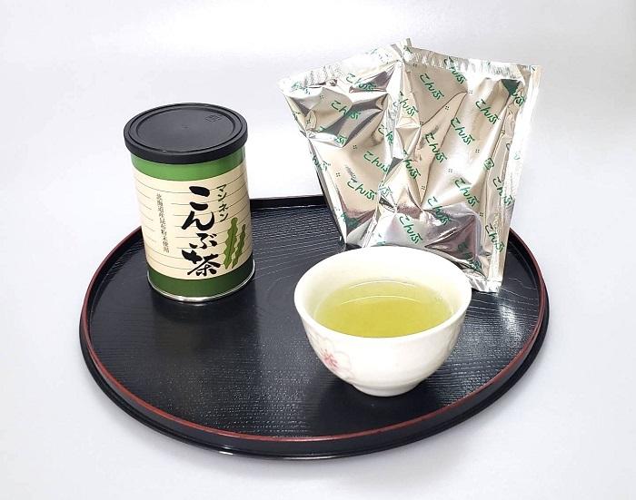 希望者のみラッピング無料 北海道産昆布を使用ヨード ヨウ素 の摂取に 実物 創業以来変わらぬ味 大缶100g 昆布茶