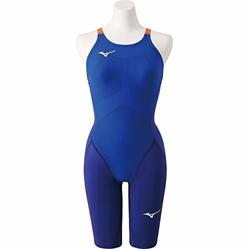 MIZUNO(ミズノ) 競泳水着 レース 大会用 レディース GX・SONIC IV STハーフスーツ FINA(国際水泳連盟)承認済 N2MG9201 サイズ:XL ブルー