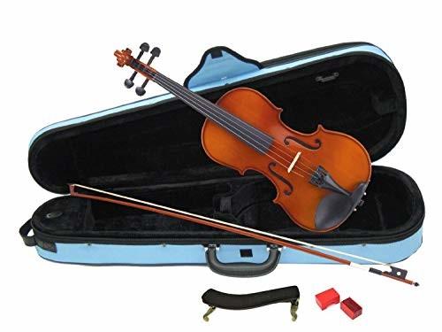 【ポイント3倍】カルロジョルダーノ バイオリンセット VS-1C 1/2 みずいろケース