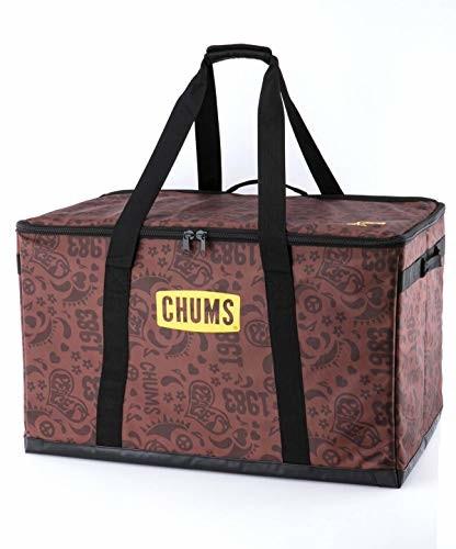 チャムス (CHUMS) フォーダブルボックス Lサイズ ラブ&ピース CH62-1354-Z122-00