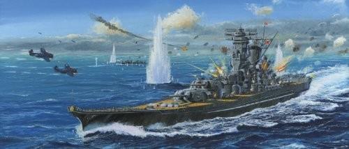 フジミ模型 1/500 艦船シリーズ 幻の超大和型戦艦