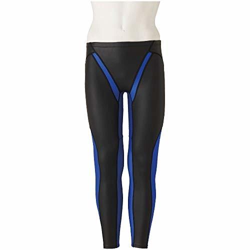 MIZUNO(ミズノ) 競泳水着 トレーニング 練習用 メンズ エクサースーツ FG-II ロングスパッツ N2MB957992 サイズ:S ブラック×ブルー