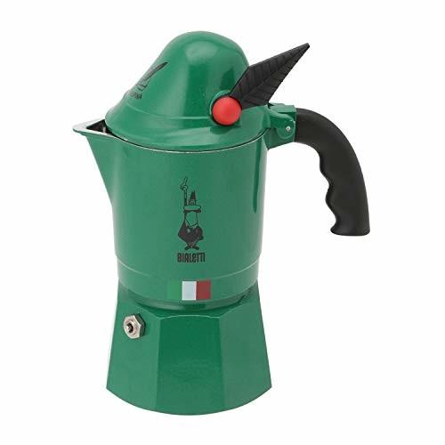 BIALETTI 直火式 モカアルピナ グリーン 3カップ 2762