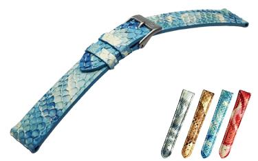 Python watch band PITONE (Python) D 2653 706 Italy MORELLATO (morellato) manufactured for wrist watch watch watch belt! \11,000 + tax