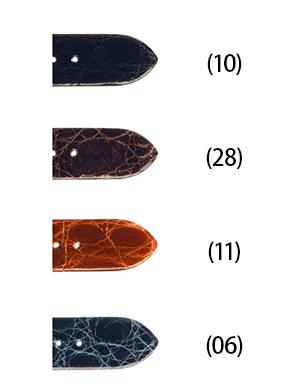 時計 ベルト 時計ベルト カイマンワニ U1615 16mm 17mm 18mm 19mm 20mm バンド 時計バンド 替えベルト 替えバンド ベルト交換 | 腕時計 交換 革ベルト 腕時計ベルト 本革 腕時計バンド ウォッチバンド 本革ベルト 革バンド交換 ベルトだけ 腕時計用ベルト 時計用ベルト