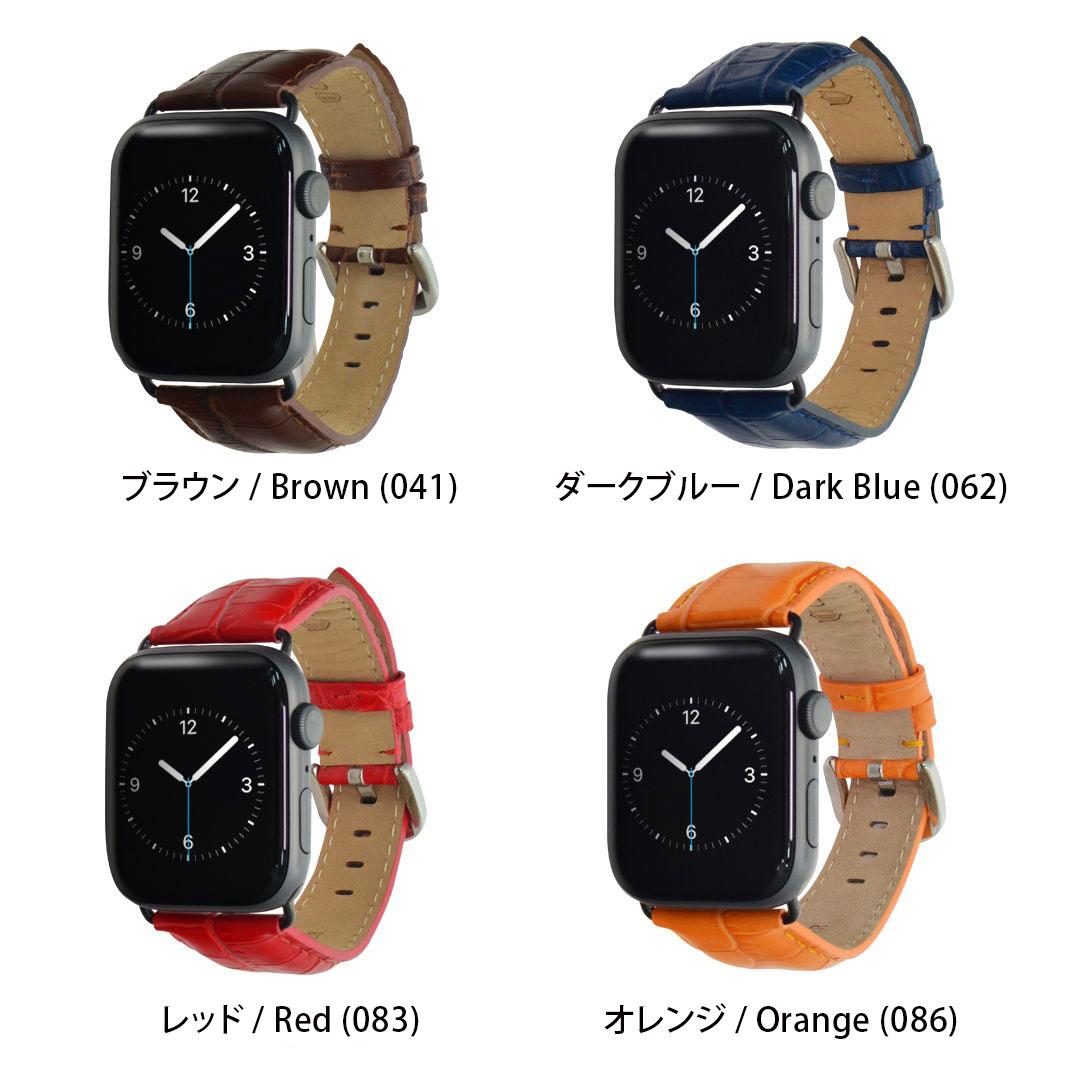 Apple Watch パーツ付バンド アップルウォッチシリーズ2,3,4対応 42mm 44mm バンド カシス製 腕時計ベルト TYPE GGM(タイプジージーエム) 時計ベルト Apple Watchサードパーティ 時計 ベルト 腕時計 革ベルト レザー 時計バンド ベルト交換 おしゃれ 人気 アップルウォッチ4