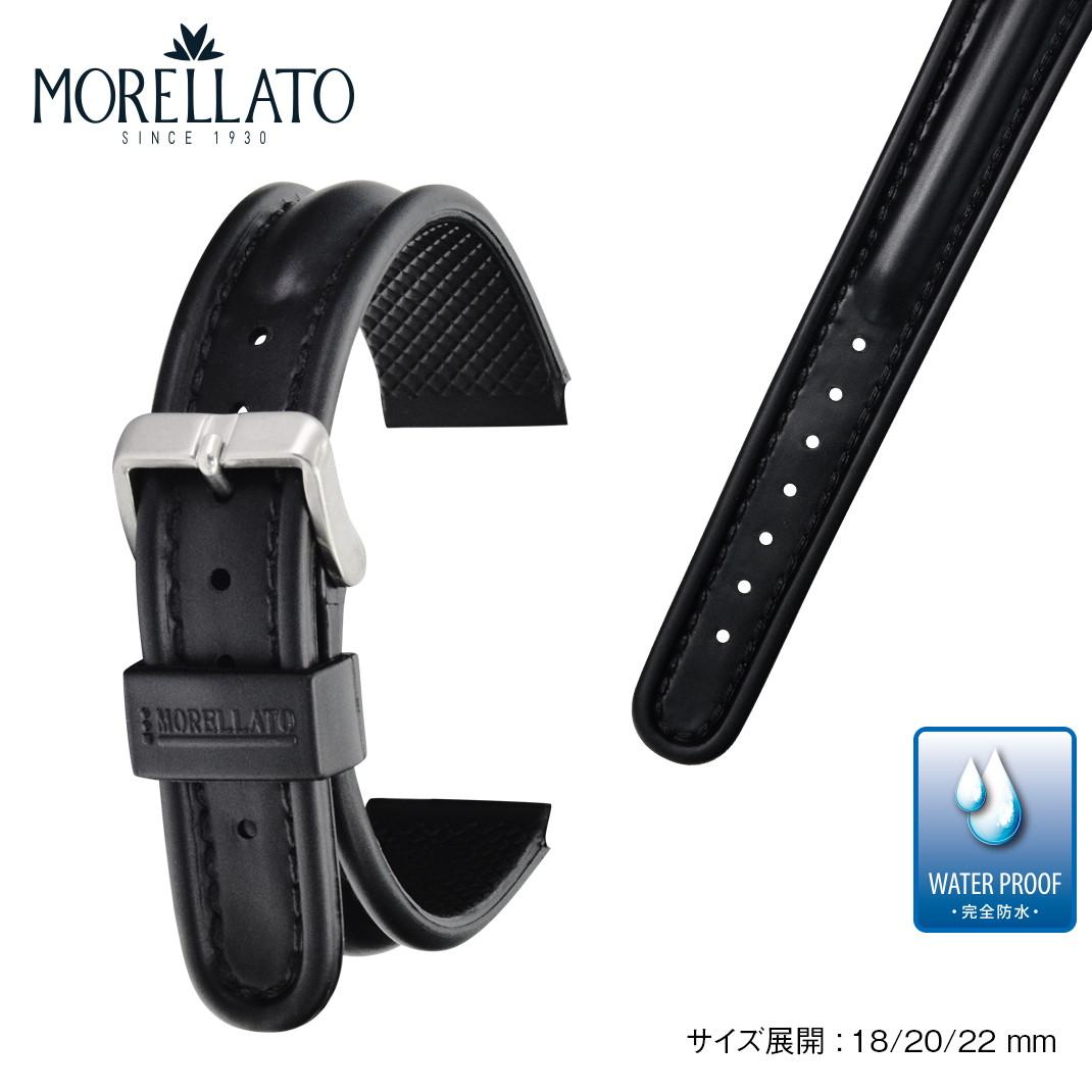 140310e06d 楽天市場】時計ベルト 時計 ベルト ラバー 完全防水 MORELLATO ...