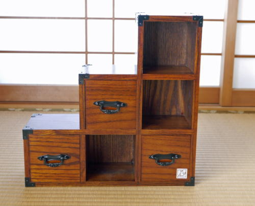 Mini Size Staircase Drawers 30cm Stairs Chest