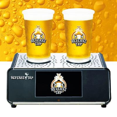 新感覚ビールディスペンサー!REVERSETAP リバースタップ 本体 タップ2 高速自動ビールサーバー