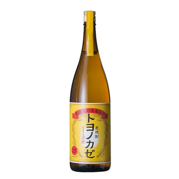 焼酎 大分 国内正規品 藤居醸造 トヨノカゼ 25度 麦 1800ml 大決算セール