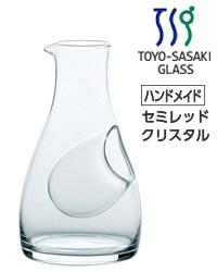 【包装不可】 東洋佐々木ガラス カラフェ バリエーション 冷酒カラフェ(大) 12個セット 品番:61278 日本製 ケース販売 徳利