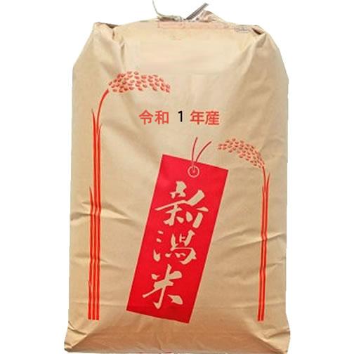 【事業所配送(個人宅不可)】【精米料無料】最高級もち米 令和元年産 新潟県産こがねもち 1等 玄米30kgx1袋 無洗米加工/保存包装 選択可
