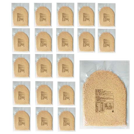 【事業所配送(個人宅不可)】発芽玄米(長野県産コシヒカリ) 業務用 1ケース 1kg x 20袋(1ケース)