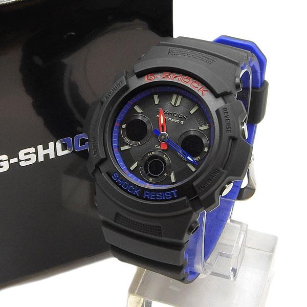 未使用 CASIO カシオ G-SHOCK タフソーラー電波時計 AWG-M100SLT-1AJF 生産終了モデル 【中古】