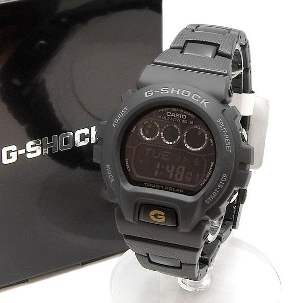 未使用 CASIO カシオ G-SHOCK タフソーラー電波時計 GW-6900BC-1JF 黒 【中古】