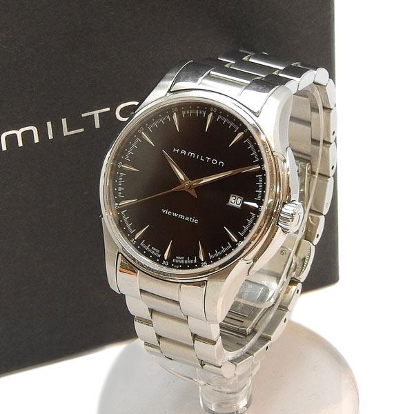 美品 HAMILTON ハミルトン ジャズマスター ビューマチック オートマチック 腕時計 H32665131黒文字盤 【中古】
