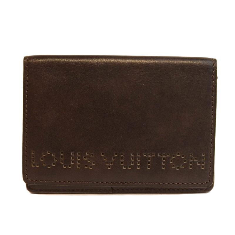 LOUIS VUITTON ルイ・ヴィトン オーガナイザー・ドゥ・ポッシュ レザー カードケース M95528 【中古】