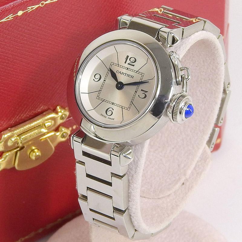 Cartier カルティエ ミスパシャ レディース クォーツ 腕時計 2973 514519XX 【中古】