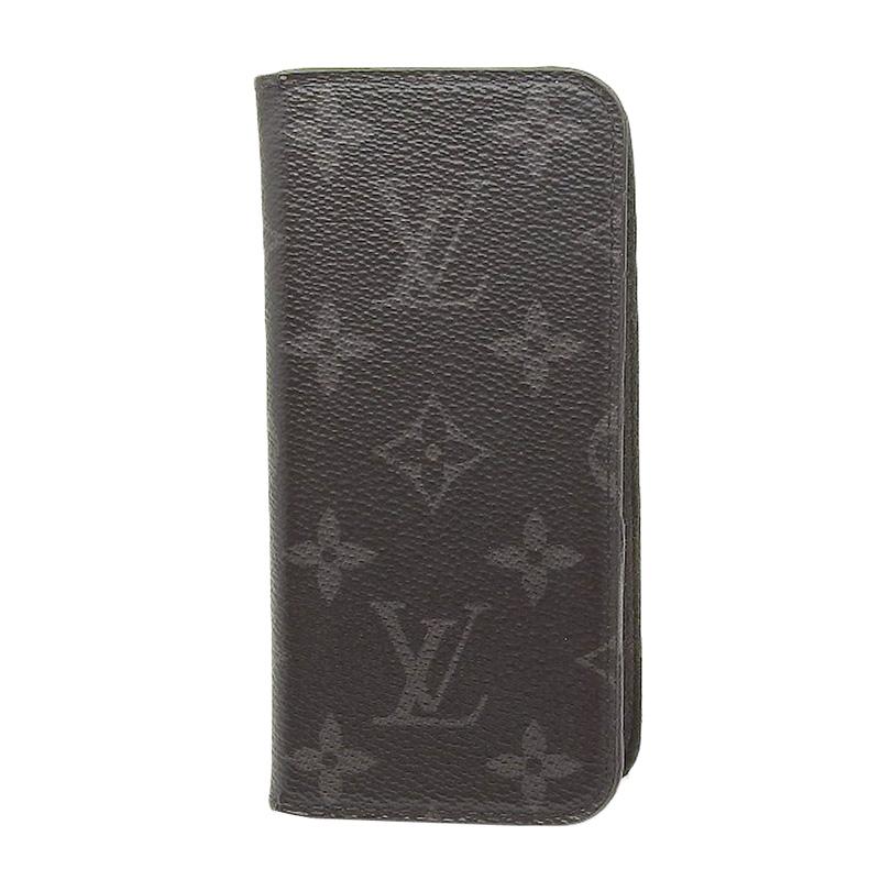 Louis Vuitton ルイ ヴィトン モノグラム・エクリプス iPhone7ケース M62640 【中古】