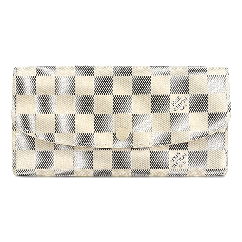 Louis Vuitton ルイ ヴィトン ダミエ アズール ポルトフォイユ・エミリー N63021 【中古】