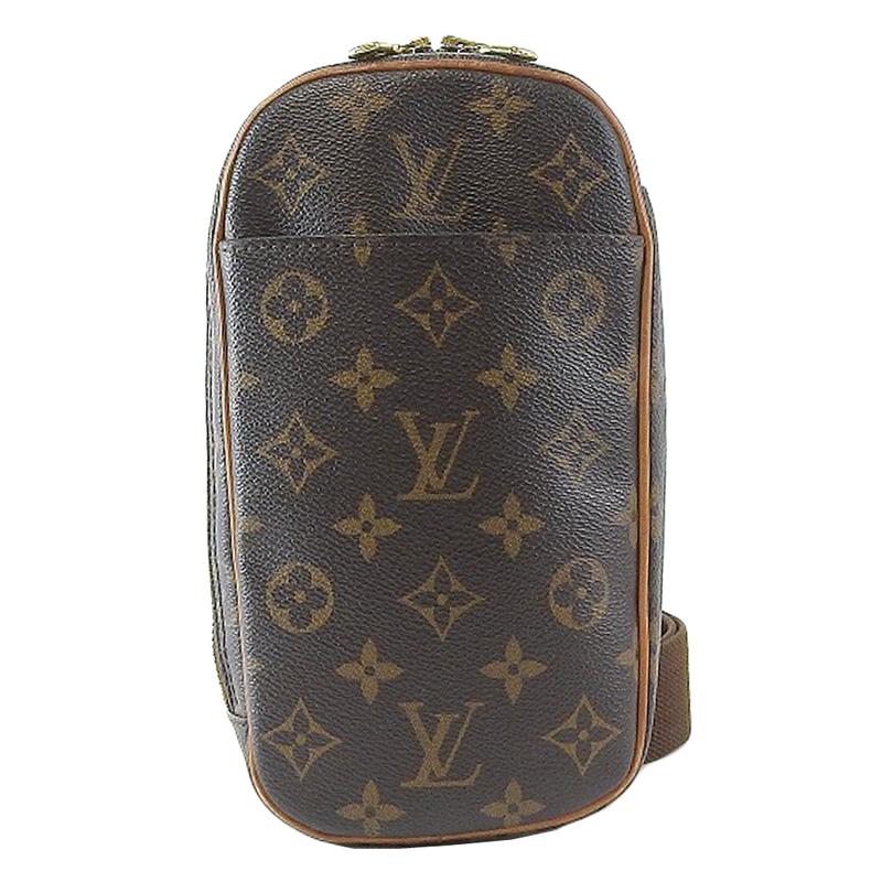 Louis Vuitton ルイ ヴィトン モノグラム ポシェット ガンジュ M51870 【中古】