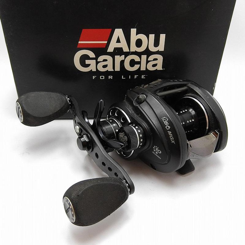 限定特価 20200605 アブガルシア AbuGarcia ベイトリール MGX SHS-L 爆買い送料無料 レボ 中古