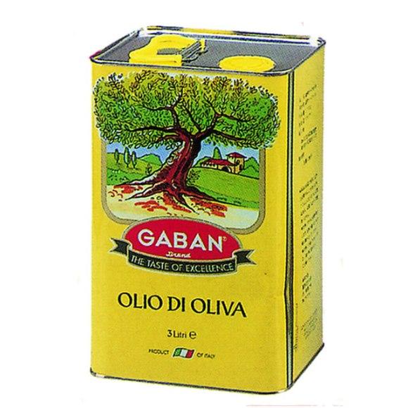 【今月のポイントアップ】ギャバン オリーブオイルピュア 3L×4缶入りケース【送料割引除外品】【1ケースまで1個口】