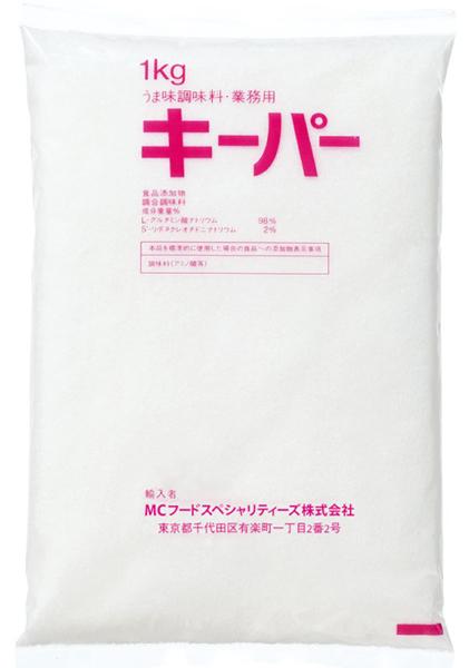 MCFS うま味調味料 キーパー 1kg×15袋入りケース【送料割引除外品】【1ケースまで1個口】