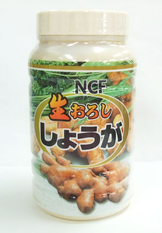 NCF (訳ありセール 格安) 生おろししょうが 冷蔵品 1kg 新色追加して再販