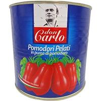 常温 ドンカルロ ホールトマト トマト加工品 ラッピング無料 大倉フーズ 国内即発送 2550G