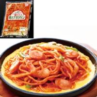 【冷凍】もっちり麺の焼きナポリタン 1KG (マルハニチロ/洋風調理品/パスタ)