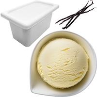 業務用アイス 【冷凍】ベーシック バリューバニラ 4L (ロッテ/冷凍アイス/アイスクリーム)