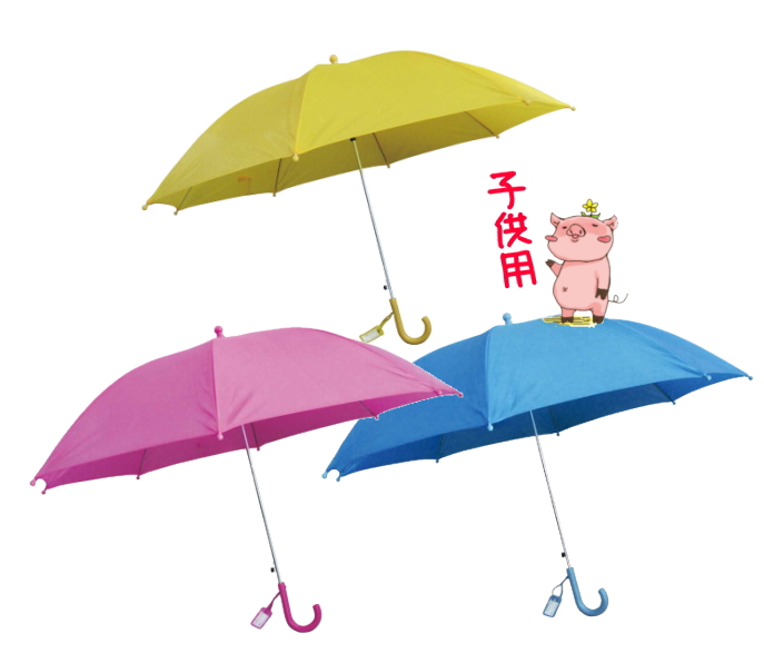 ● 55cm 子供用ジャンプ傘 同色60本入 ( 学童傘 長傘 雨傘 )送料無料(一部地域除く) ☆【万天プラザ 100円ショップ+雑貨】