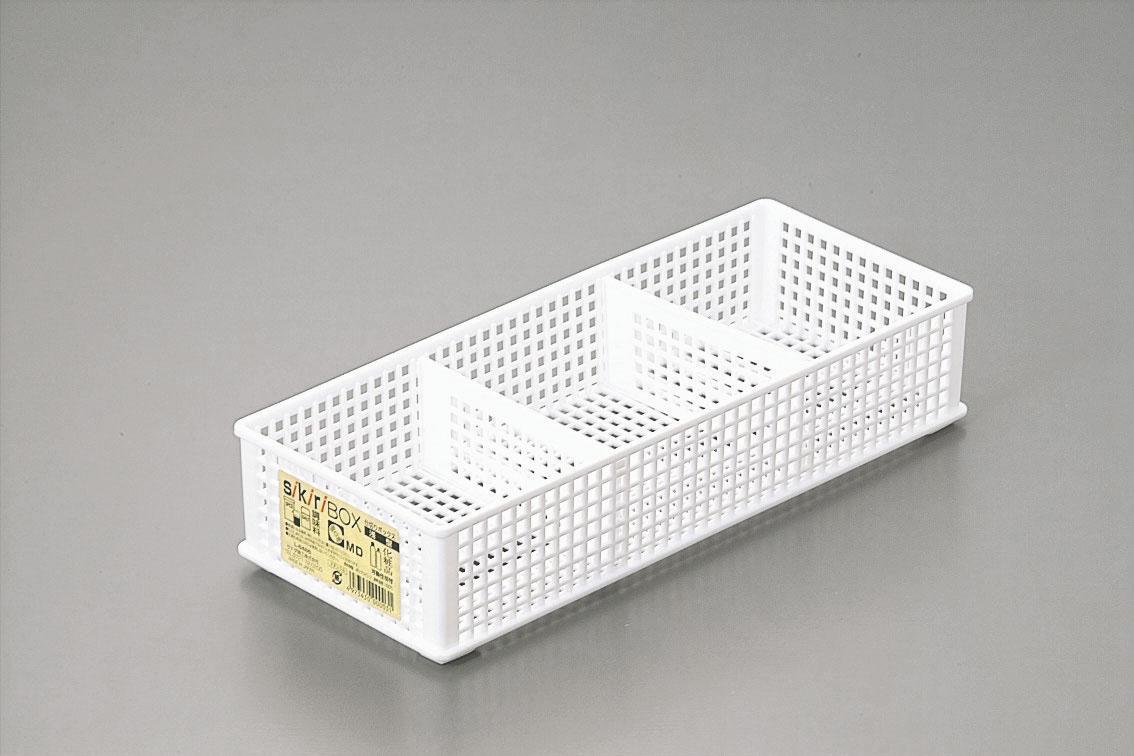 ● 仕切りボックス 浅型ナチュラル 100円均一 100均一 100均 120点セット ☆【万天プラザ 100円ショップ+雑貨】