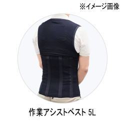【エントリーP3 マイカー割】キングジム作業アシストベスト 5LASV10-5L