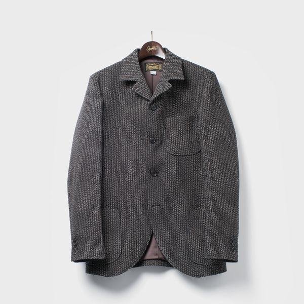 ORGUEIL OR-4111 Beach Cloth Jacket BLACK  オルゲイユ ビーチクロスジャケット パンツ ジーンズ レザージャケット クラシック