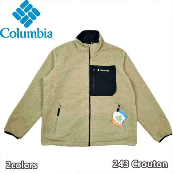 コロンビア 21秋冬 Columbia PM1632 日時指定 シュガードームリバーシブルジャケット アウター 高級品 アウトドア フリース ジャケット キャンプ