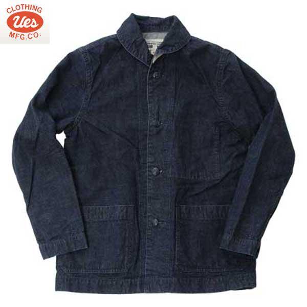 ウエス 商品 UES 902052R ノーティカルジャケット ブランド品 デニム USN ジャケット