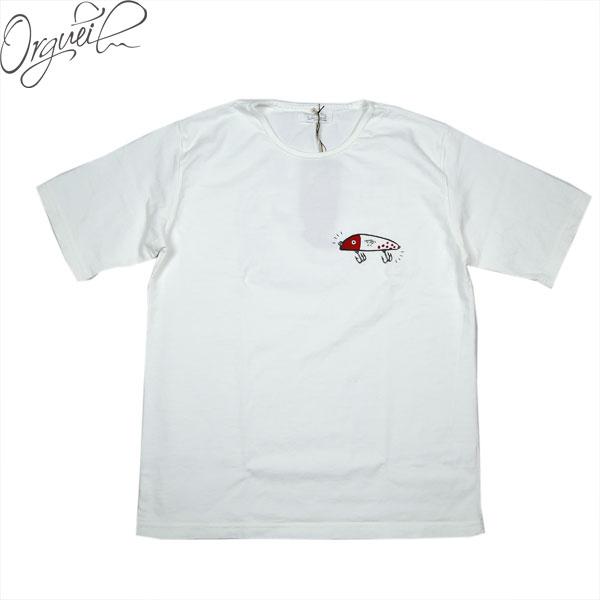 オルゲイユ ORGUEIL 安い OR-9060A Printed 未使用品 T-shirt ラッキールーディ Tシャツ コラボ 半袖 ×