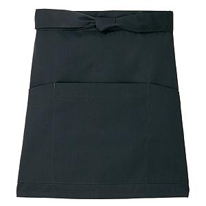 ■キレイなショートエプロン 光触媒加工 MEN'S LADIES 年中無休 フリー ブラック 20色 送料無料でお届けします
