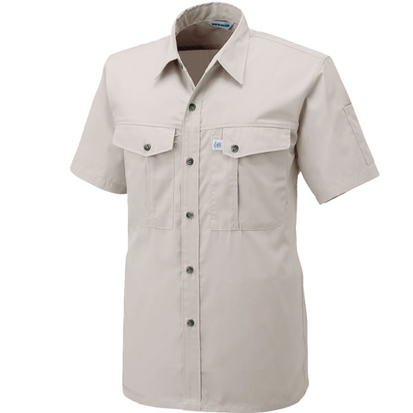 ソフトな風合いの高品質ペットボトル再生繊維 春 半袖シャツ 夏 おしゃれ 爆安プライス