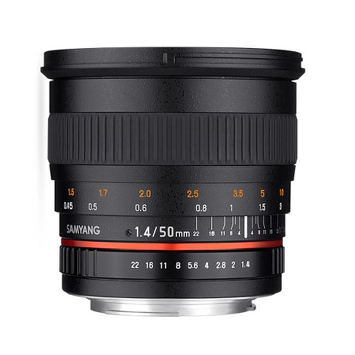 《新品》 SAMYANG (サムヤン) 50mm F1.4 (キヤノン用)[ Lens | 交換レンズ ]【KK9N0D18P】〔メーカー取寄品〕【¥3,000-キャッシュバック対象】