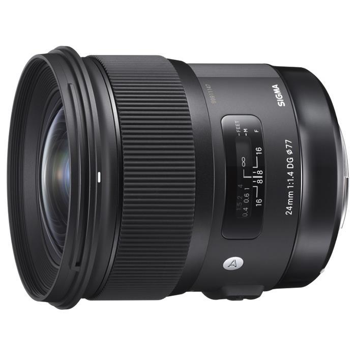 《新品》 SIGMA (シグマ) A 24mm F1.4 DG HSM(キヤノン用) [ Lens | 交換レンズ ]【KK9N0D18P】