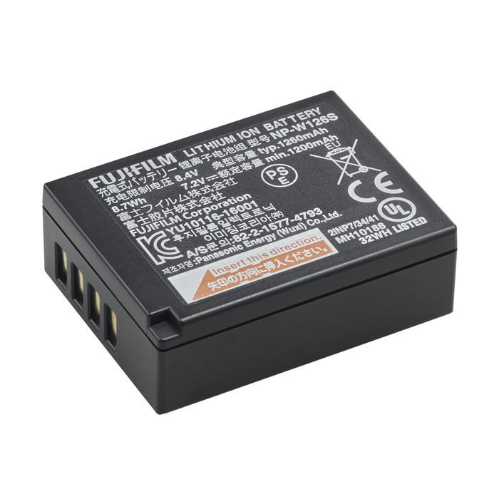 《新品アクセサリー》 FUJIFILM (フジフイルム) リチウムイオンバッテリー NP-W126S (対応機種 :X-H1、X-Pro2、X-Pro1、X-T2、X-T1、X-T30、X-T20、X-T10、X-T100、X-E3、X-E2、X-E1、X-M1、X-A5、X-A3、X100F、FinePix HS50EXR)【KK9N0D18P】