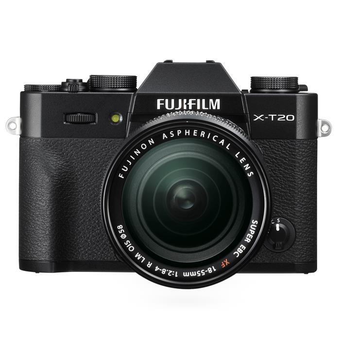 《新品》 FUJIFILM(フジフイルム) X-T20 レンズキット ブラック[ ミラーレス一眼カメラ | デジタル一眼カメラ | デジタルカメラ ] 【KK9N0D18P】