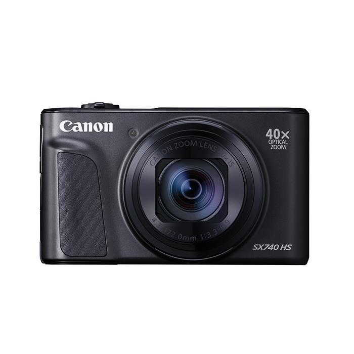 《新品》 Canon (キヤノン) PowerShot SX740 HS ブラック[ コンパクトデジタルカメラ ]【KK9N0D18P】