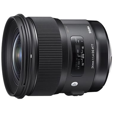《新品》 SIGMA (シグマ) A 24mm F1.4 DG HSM(ニコン用) [ Lens   交換レンズ ]【KK9N0D18P】