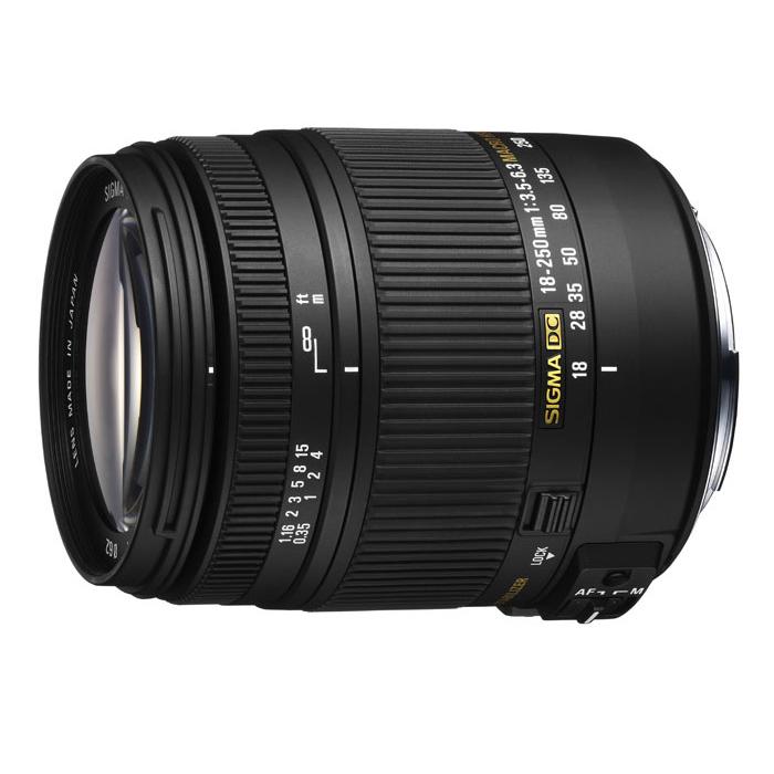 《新品》 SIGMA(シグマ) 18-250mm F3.5-6.3 DC MACRO OS HSM(キヤノン用)[ Lens | 交換レンズ ]【KK9N0D18P】【在庫限り】